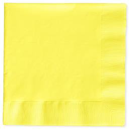 Lunch Napkin (PKG/150) - Pastel Yellow