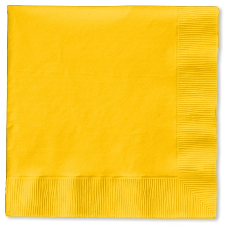 Lunch Napkin (PKG/150) - Golden Yellow