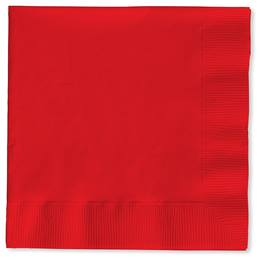 Lunch Napkin (PKG/150) - Real Red