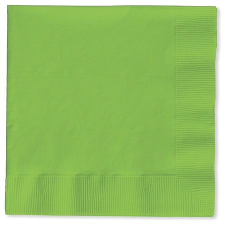 Lunch Napkin (PKG/150) - Lime Green