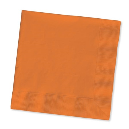 Beverage Napkin (PKG/50) - Sunkissed Orange