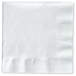 Lunch Napkin (PKG/50) - White