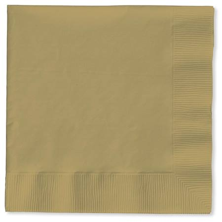 Lunch Napkin (PKG/50) - Glittering Gold
