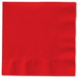 Lunch Napkin (PKG/50) - Red