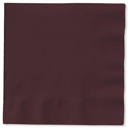 Lunch Napkin (PKG/50) - Chocolate