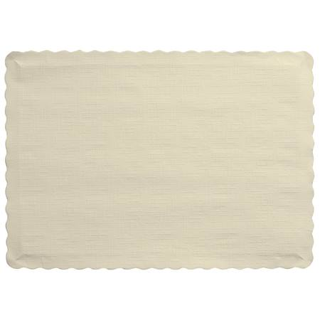 Solid Color Paper Placemats - Ivory