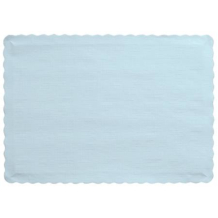 Solid Color Paper Placemats - Pastel Blue
