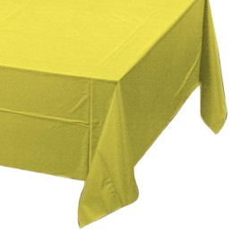 Mimosa Solid Color Polyvinyl Table Cover