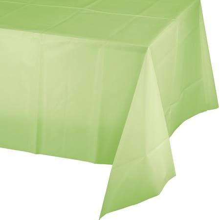 Pistachio Solid Color Polyvinyl Table Cover