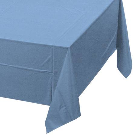 Poly Lined Tissue Tablecover - Periwinkle