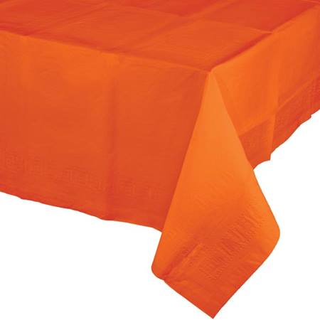 Poly Lined Tissue Tablecover - Sunkissed