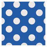 Blue Decorative Dots Luncheon Napkins
