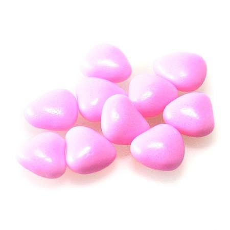 Tiny Pastel Pink Candy Hearts
