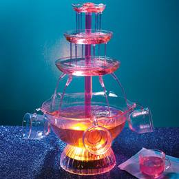 Light-Up Party Fountain & Cups