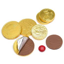 Kosher Chocolate Coins