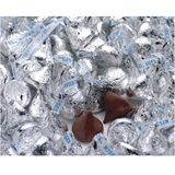 Hershey's Kisses® Chocolate Candies - Silver Foil