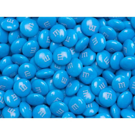 Blue M&M's Milk Chocolate Candy