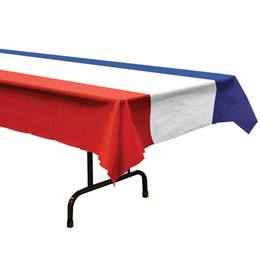Red, White, and Blue Table Cover