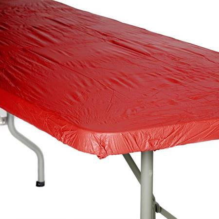 Kwik Cover Solid Color Banquet Table Cover