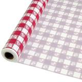 Red Gingham Banquet Roll