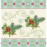 Holly Collage Tablecover