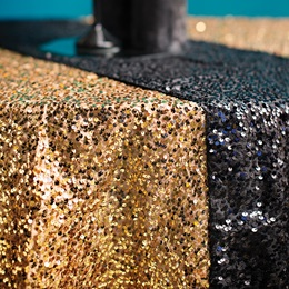 Sequin Square Table Cover, 58""