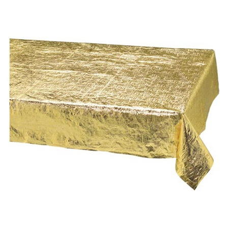 Metallic Gold Table Cover M Amp N Party Store