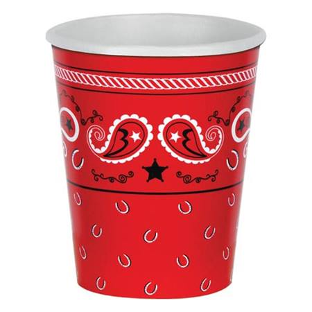 Western Bandana Hot/Cold Cups