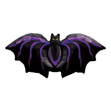 Gothic Bat Metallic Balloon