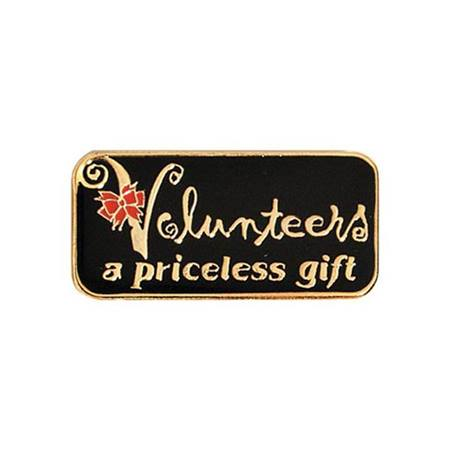 Volunteers A Priceless Gift Lapel Pin