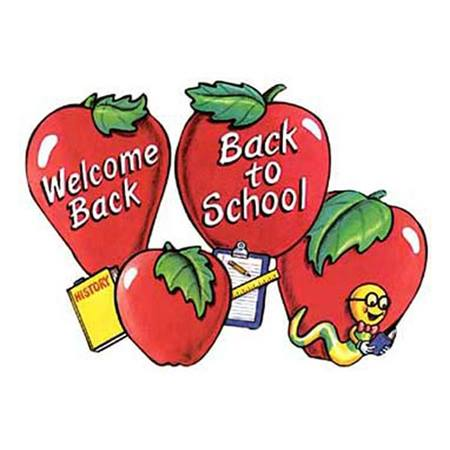 Welcome Back to School Cut-Outs