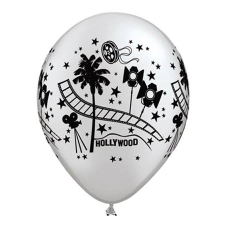 Hollywood Film Latex Balloons