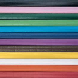 Solid Color Corrugated Paper