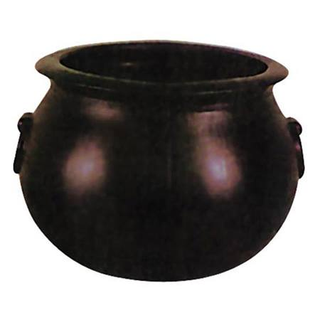 Cauldron, Small Black Plastic