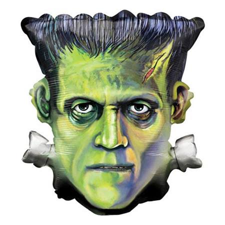 Frankenstein Metallic Balloon