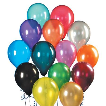Crystal Latex Balloons 9 in. - 50 per pkg