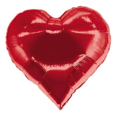Casino Heart Metallic Balloon