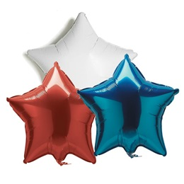 Metallic Star Balloon - 19 in.
