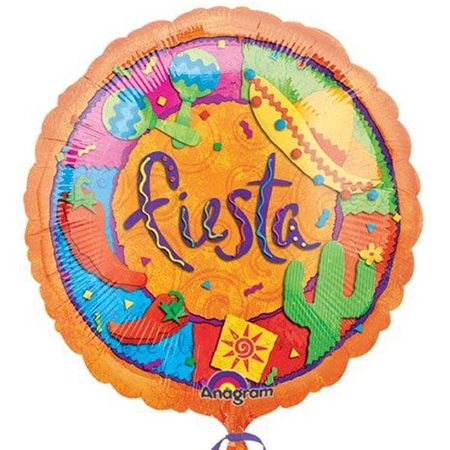 Fiesta Patterns Metallic Balloon