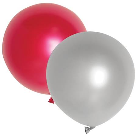 Solid Color Latex Balloons, 18 in. - 50 per pkg