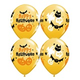 Halloween Fun Latex Balloons
