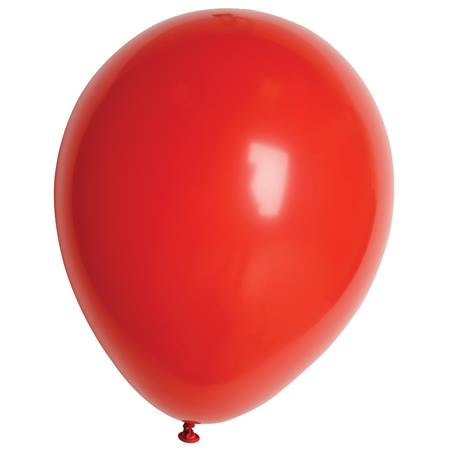 Red Fashion Balloons - 11 Inches