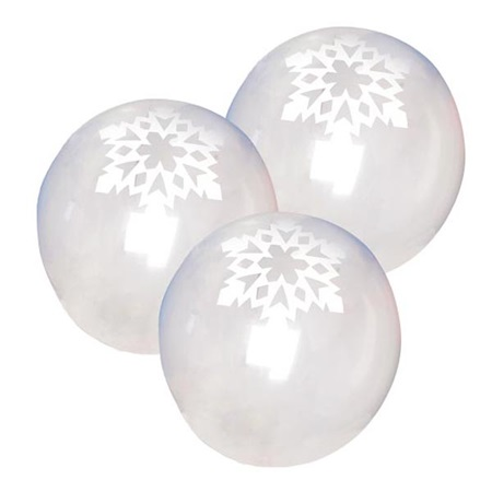 Snowflake Balloon 11 in.
