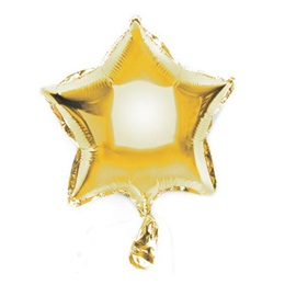 Star Metallic Balloon 9 in