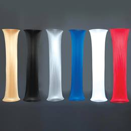 Satin Fabric Column