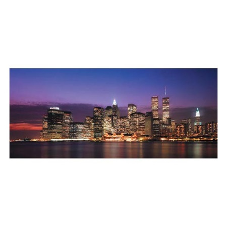 New York City Skyline Mural