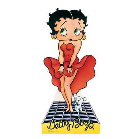 Betty Boop Red Dress Stand-Up