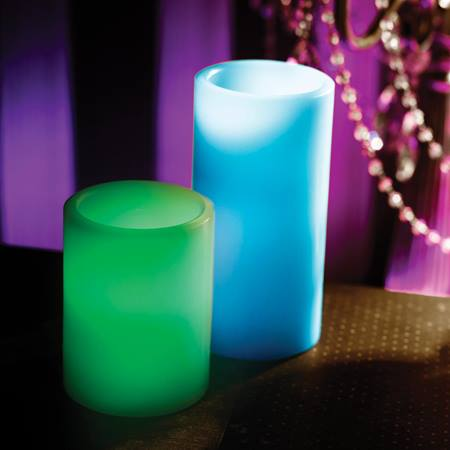 LED Pillar Candle, Large