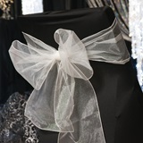 Glitter Organza Chair Sashes