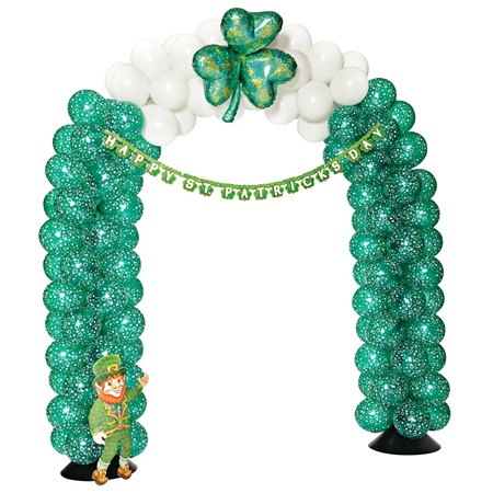 St patrick 39 s day arch balloon kit m n party store for Balloon arch decoration kit